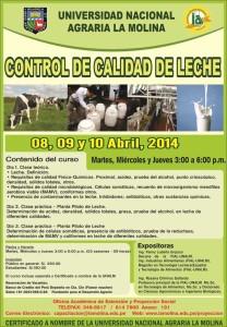 folleto curso control de calidad leche